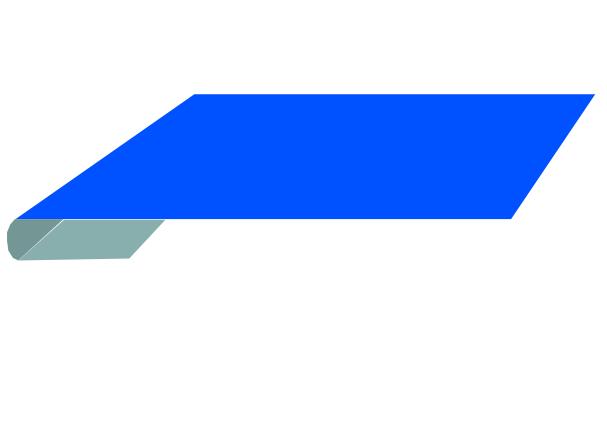 Планка завершающая 65х3000мм