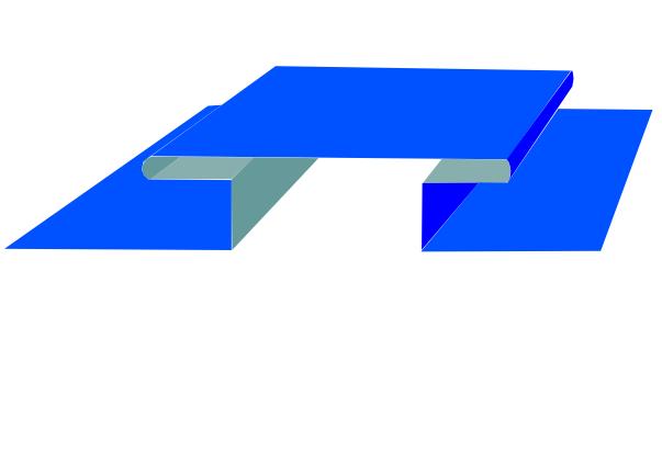 Планка стыковочная сложная 75х3000мм