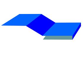 Планка начальная сайдинга 10х20х3000мм
