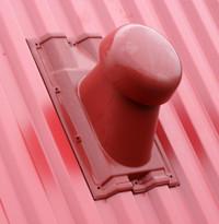 Выход универсальный вентиляции на металлочерепицу