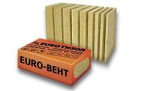 Утеплитель Euro - вент  (100 * 600 * 1000) Плотность - 80 для стен и фасада