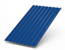 Профлист Синий СН-18 шир.-1.12м, длина-6м