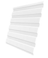 Профлист Белый С-8 шир.-1.2м, длина-2м