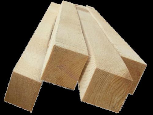 Доска обрезная (Брусок) 50мм*50мм*3м