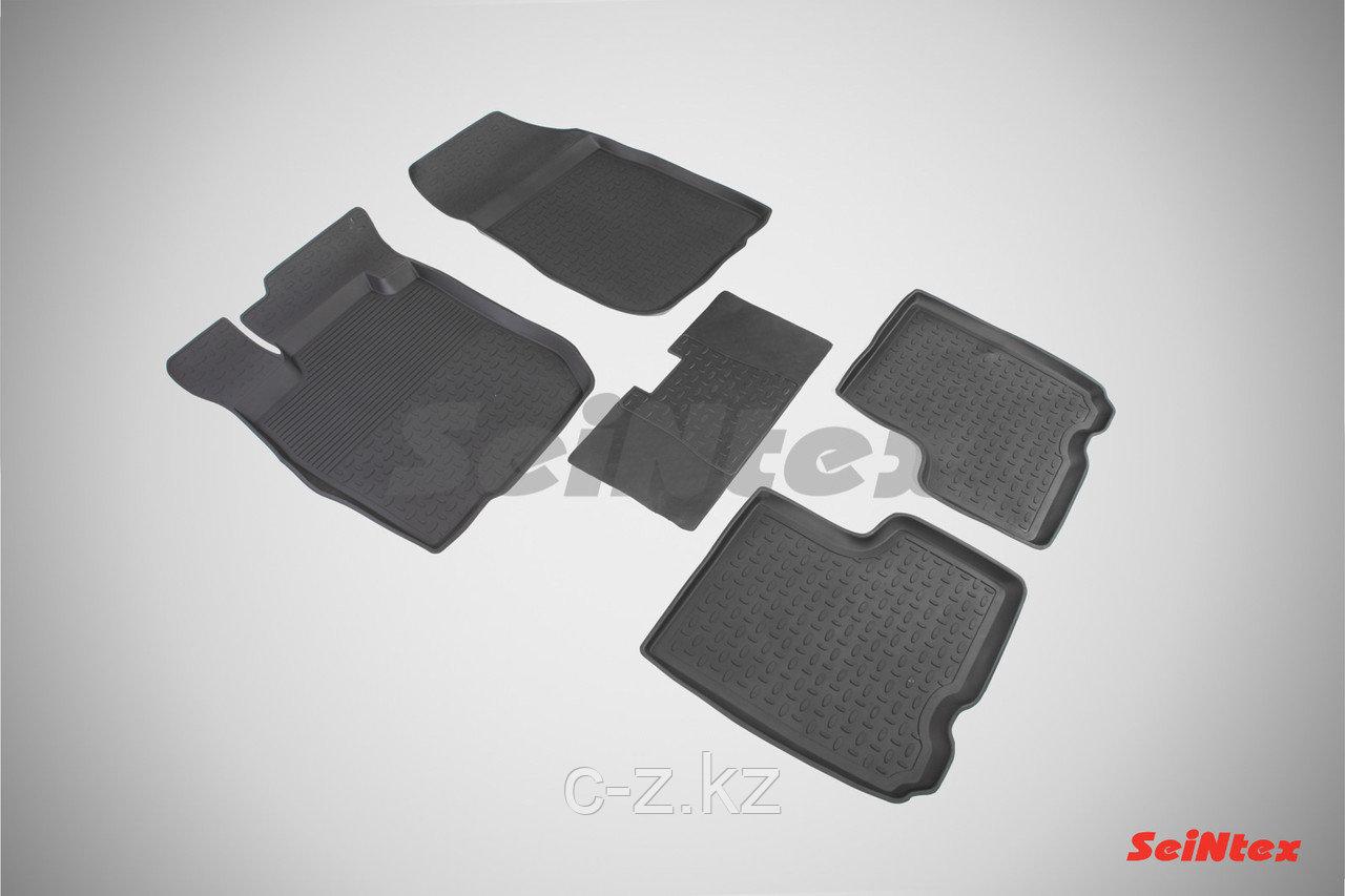 Резиновые коврики с высоким бортом для LADA LARGUS (5 мест) 2012-н.в.