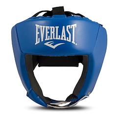 Боксерский шлем EVERLAST кож.зам