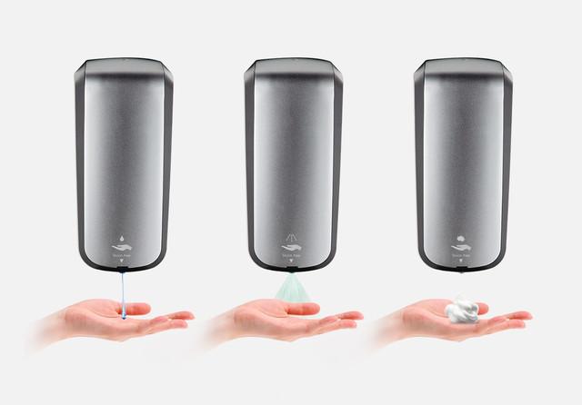 автоматические бесконтактные диспенсеры breez для жидкого мыла и антисептика