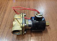 "Клапан электромагнитный 220в норм.закрытый 1/2"" ABS метал"