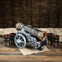 """Набор для вина """"Царь-пушка"""", 6 предметов в наборе, 0,8 л/0,3 мл"""