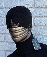 Шапка Polo черная