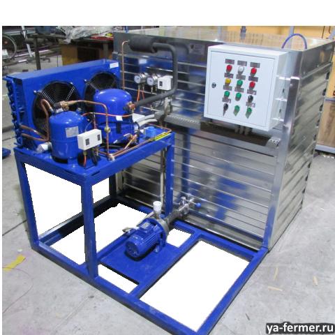 Изготовление генераторов ледяной воды