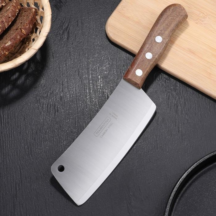 Топорик кухонный Сarbon для мяса, с деревянной ручкой