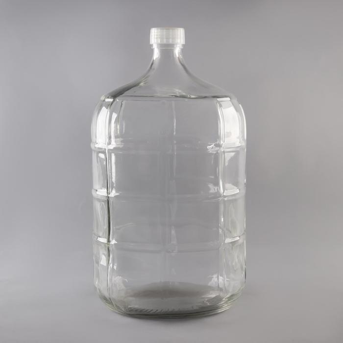 Бутыль стеклянный «GJR. Прозрачный», 18,9 л