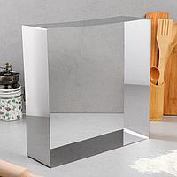 "Форма для выпечки и выкладки ""Квадрат"", 32 х 32 х 10 см"