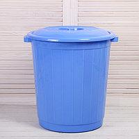Бак пищевой, 50 л, с крышкой, цвет МИКС, фото 1