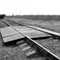 Вагонные весы для статического взвешивания МВСК-100-А (В), 1 платформа