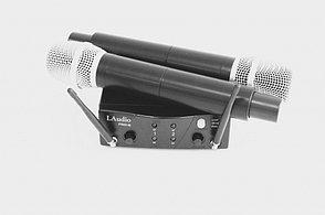 Вокальная радиосистема, 2 ручных передатчика, LAudio PRO2-M