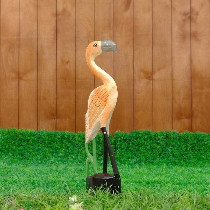 """Сувенир дерево """"Птичка"""" 11х6,5х50 см"""