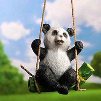 "Подвесной декор ""Панда на бамбуке"" 24х15х25см, фото 1"