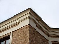 """Фасадный декор Обрамления изделия из Пенопласта """"Фронтонный карниз"""""""