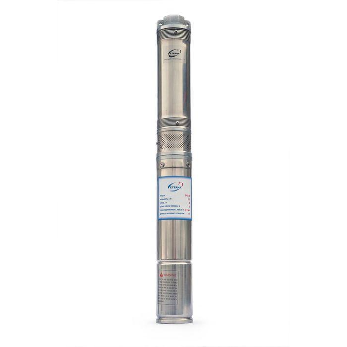 Насос скважинный ETERNA SPS2-35, центробежный, 370 Вт, напор 35 м, 70 л/мин, кабель 20 м