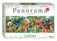 """Step Puzzle: пазл  1000 деталей """"Мир животных"""" (Панорама)"""