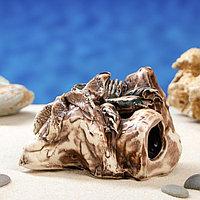 """Декорация для аквариума """"Скала малая'', 8 см, микс, фото 1"""