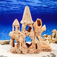 """Декорации для аквариума """"Замок с куполом"""", фото 1"""
