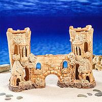 """Декорации для аквариума """"Замок двойной с аркой"""", фото 1"""