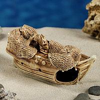 """Декорация для аквариума """"Кораблик"""", 5 х 14 х 7 см, микс, фото 1"""
