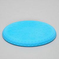 "Фрисби ""Косточки и лапки"", 18,6 см, термопластичная резина, микс цветов"
