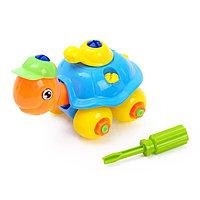Конструктор для малышей «Черепашка», 25 деталей, цвета МИКС