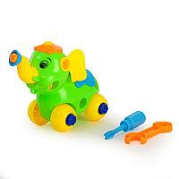 Конструктор для малышей «Слонёнок», 28 деталей, цвета МИКС