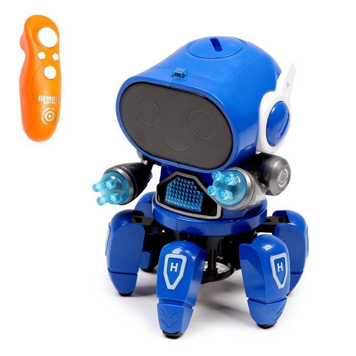 Робот радиоуправляемый «Осьминожик», цвета МИКС
