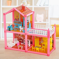 Дом для куклы, двухэтажный, с аксессуарами, фото 1