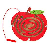 Лабиринт магнитный малый «Яблочко»