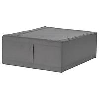 Сумка для хранения СКУББ темно-серый 44x55x19 см ИКЕА, IKEA, фото 1