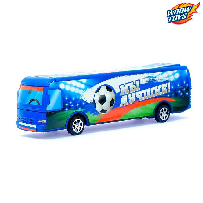 Автобус инерционный «Футбол»