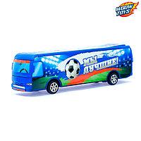 Автобус инерционный «Футбол», фото 1