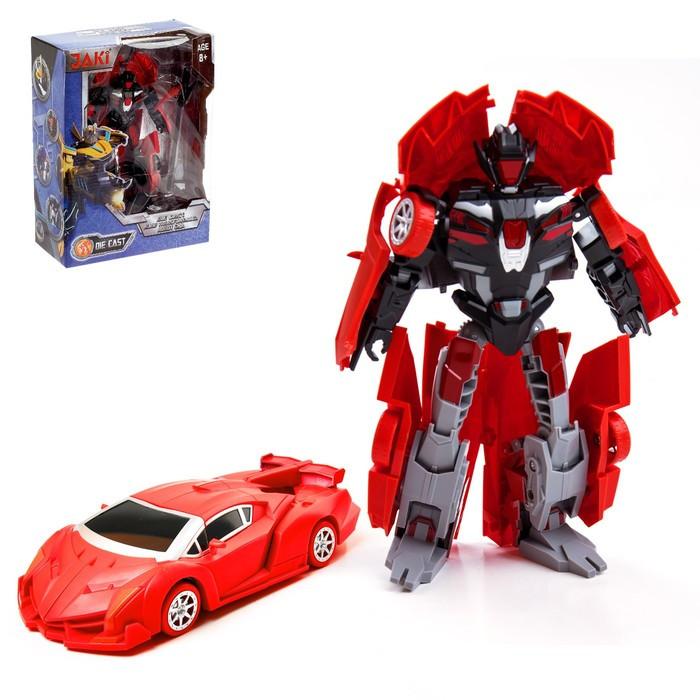 Робот-трансформер «Автобот», металлический