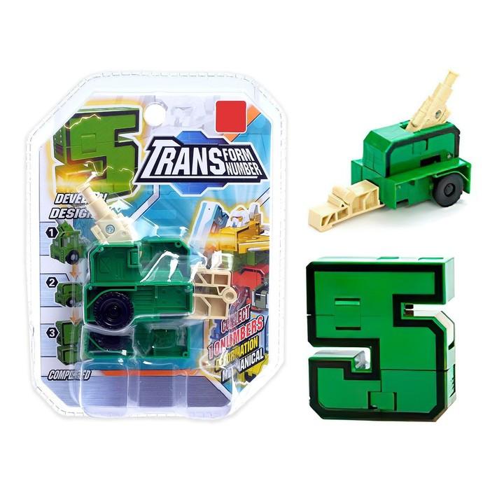 Робот-трансформер «Пятёрка»