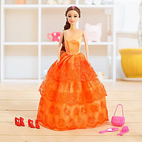 Кукла-модель «Лида» в платье, с аксессуарами, МИКС, фото 1