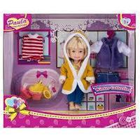 """Игровой набор """"Paula. Зимний гардероб"""", блондинка"""