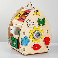 Развивающая игрушка Бизиборд «Солнечный домик», фото 1