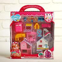Дома для кукол, с фигурками, с аксессуарами, МИКС
