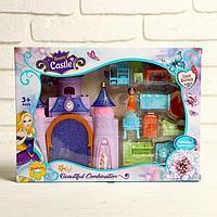 Замок для кукол, с фигурками, с аксессуарами, МИКС