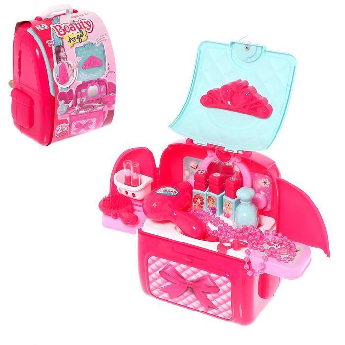 Игровой набор «Салон красоты» в рюкзаке