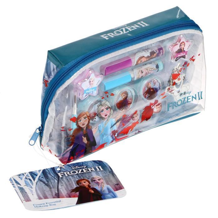 Игровой набор детской декоративной косметики для лица, прямоугольной в косметичке