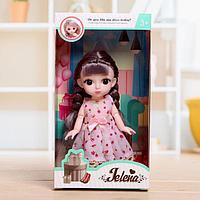 Кукла модная шарнирная «Эльза» в платье, фото 1