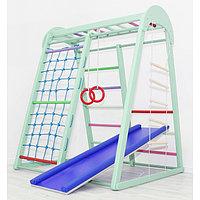 Детский спортивный комплекс Tiny Champion, 1200 × 1250 × 1500 мм, цвет фисташка